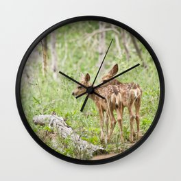 Seeing Double Wall Clock
