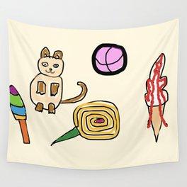 Kiddies Lollipop Wall Tapestry