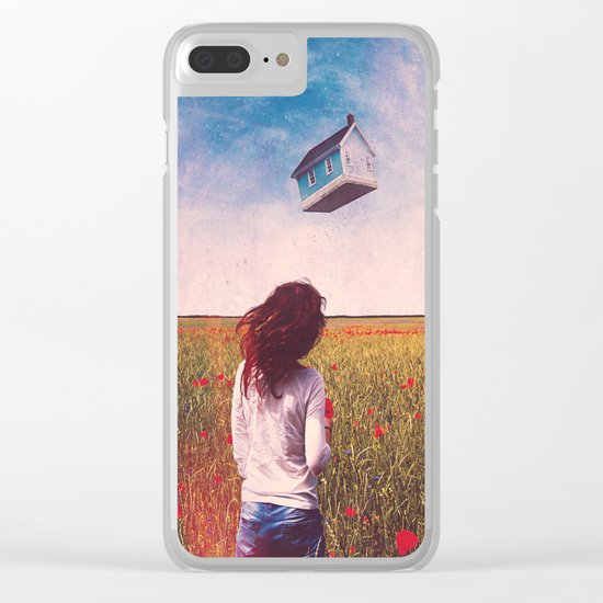 Without Regrets Clear iPhone Case