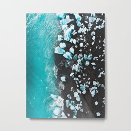 Diamond Beach, Iceland Metal Print