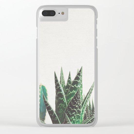 Cactus & Succulents Clear iPhone Case