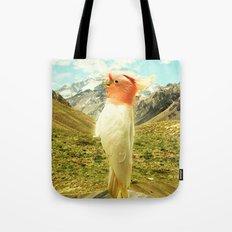 Parrot Mountain Tote Bag