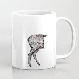 Deer in half Coffee Mug