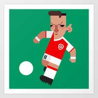 MÖ11 Mini | The Gunners Art Print