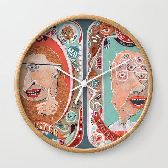 Monster Focals Wall Clock