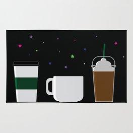Coffee Is The Life Saver Rug