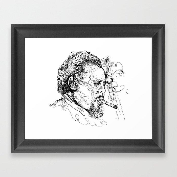 Mingus Framed Art Print