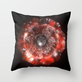 The Eye of Cyma: Fire and Ice - Frame 50 Throw Pillow
