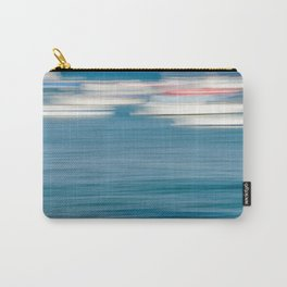Abstract Boats on Sunny Day Carry-All Pouch