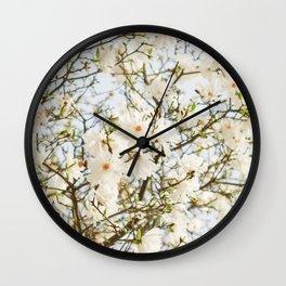 Under the Magolia Tree Wall Clock