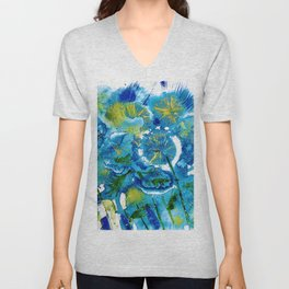 Night Field Unisex V-Neck