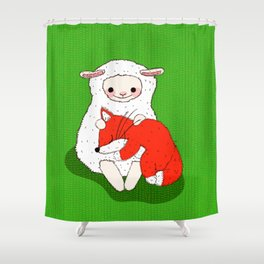 Cuddly Nap Shower Curtain