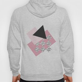 Pink - Abstract Hoody
