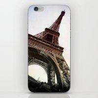 eiffel iPhone & iPod Skins featuring Eiffel  by Electric Avenue