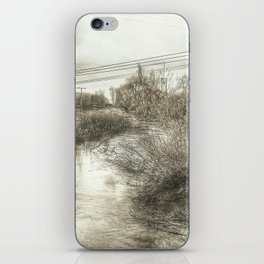 Whimsical Water Landscape iPhone Skin