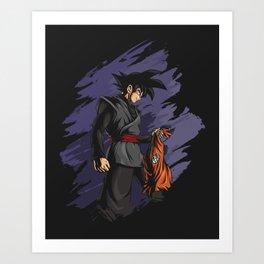 The Last Goku Art Print