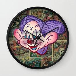 Dopey 4 Eye Wall Clock