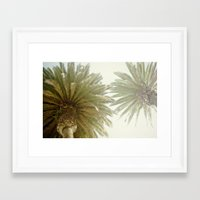 palm trees Framed Art Prints featuring Palm Trees by The ShutterbugEye