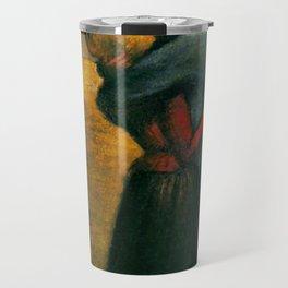"""Théophile Steinlen """"The kiss"""" (2) Travel Mug"""