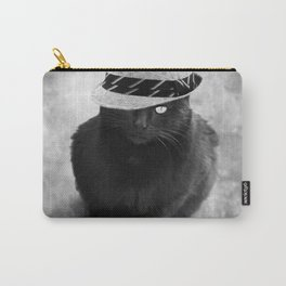 Cat with hat Carry-All Pouch