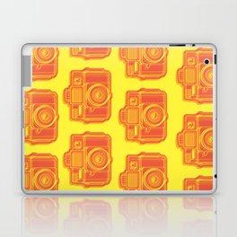 I Still Shoot Film Holga Logo - Yellow & Red Laptop & iPad Skin
