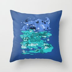 Cuteness Overload Throw Pillow