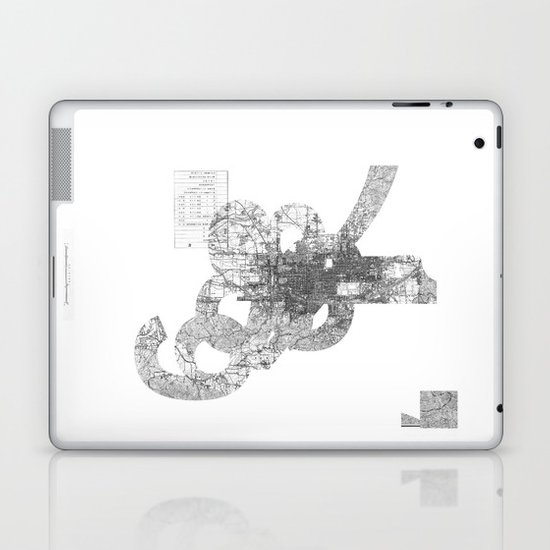 map: '794-1869 Laptop & iPad Skin
