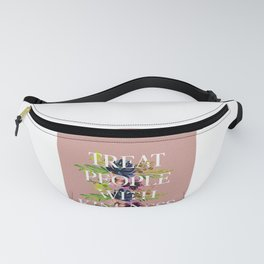 Treat People With Kindness graphic artwork / Harry Styles Fanny Pack