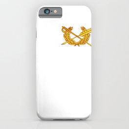 US Army Branch   Judge Advocate Generals Corps JAG   JA T Shirt iPhone Case