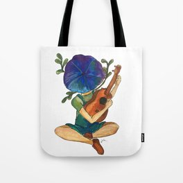 Just play your ukulele Tote Bag