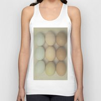 eggs Tank Tops featuring Eggs by Pure Nature Photos