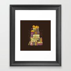 Sleeping On My Treasure Framed Art Print