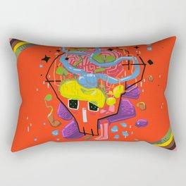 Thoughtfulness Rectangular Pillow