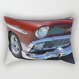 1956 Bel Air Hot Rod Rectangular Pillow