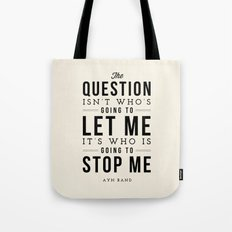 QUESTION Tote Bag