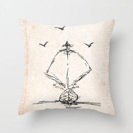 Let it ship Throw Pillow