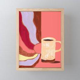 Morning Coffee Feels Like Framed Mini Art Print