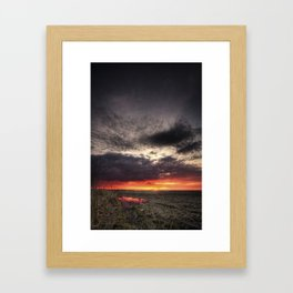 The End With You Framed Art Print