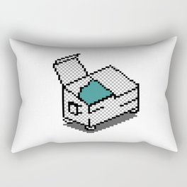 dumpster icon Rectangular Pillow