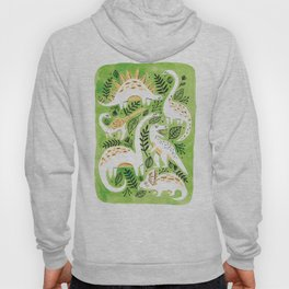 Dinosaur Forest Hoody