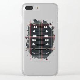 Tartan GTI Clear iPhone Case