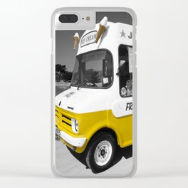 Respect to the man in the Ice Cream Van Clear iPhone Case