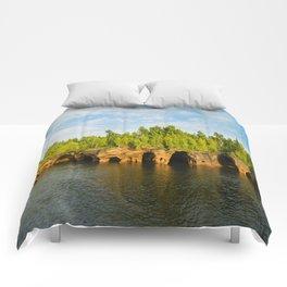 Sea caves #7 Comforters