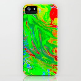 Space OF Flowing Colours iPhone Case