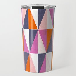 a harlequin party in pink! Travel Mug