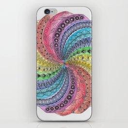 WhirlWind Mandala iPhone Skin