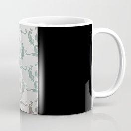 Damask Print Coffee Mug