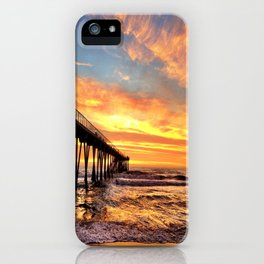 """Hermosa Beach """"A Parade of Colors"""" iPhone Case"""