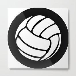 Volleyball Ideology Metal Print