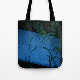 So Blue Bench Tote Bag